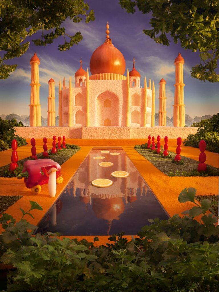 """Тадж-Махал поражает воображение не только в реальности, но и на """"съедобной"""" фотографии"""