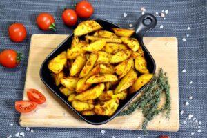 Картопля з хрусткою скоринкою в духовці