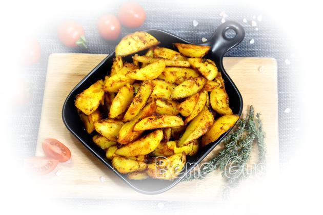 Хрустка картопля в духовці