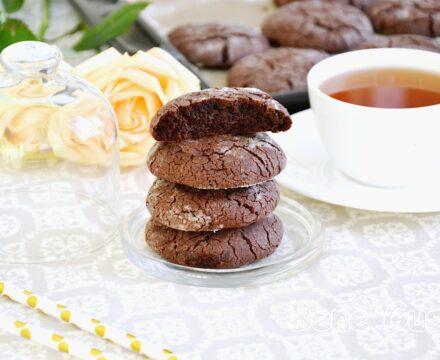 Шоколадное печенье с трещинками «Брауни»