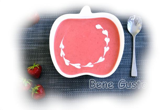 Французский клубничный суп