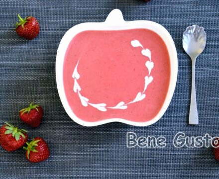Французский клубничный суп за 5 минут