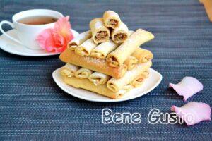 Пісочне печиво Бармак з волоським горіхом