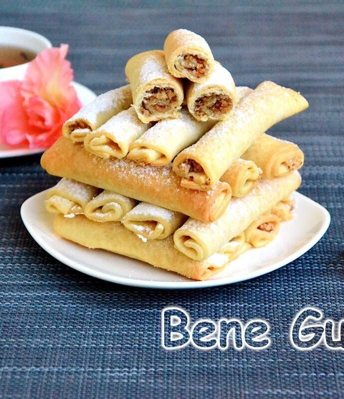 Песочное печенье с грецким орехом «Бармак»